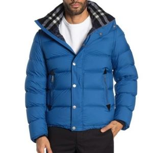 Burberry Hartley Convertible Hooded Down Jacket